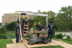 philadelphia museum of art - noguchi sculpture park install 034