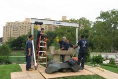 philadelphia museum of art - noguchi sculpture park install 034
