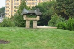 philadelphia museum of art - noguchi sculpture park install 035